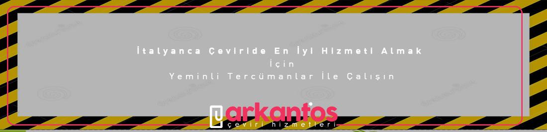 İtalyanca-Türkçe çeviri