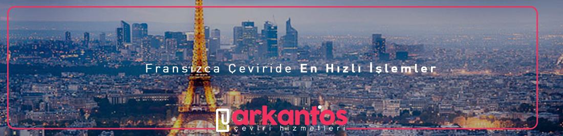 Fransızca-Türkçe çeviri İzmir